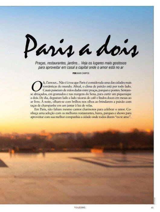 Viaje mais Je t'aime, Paris! Chez Nous Chez Vous